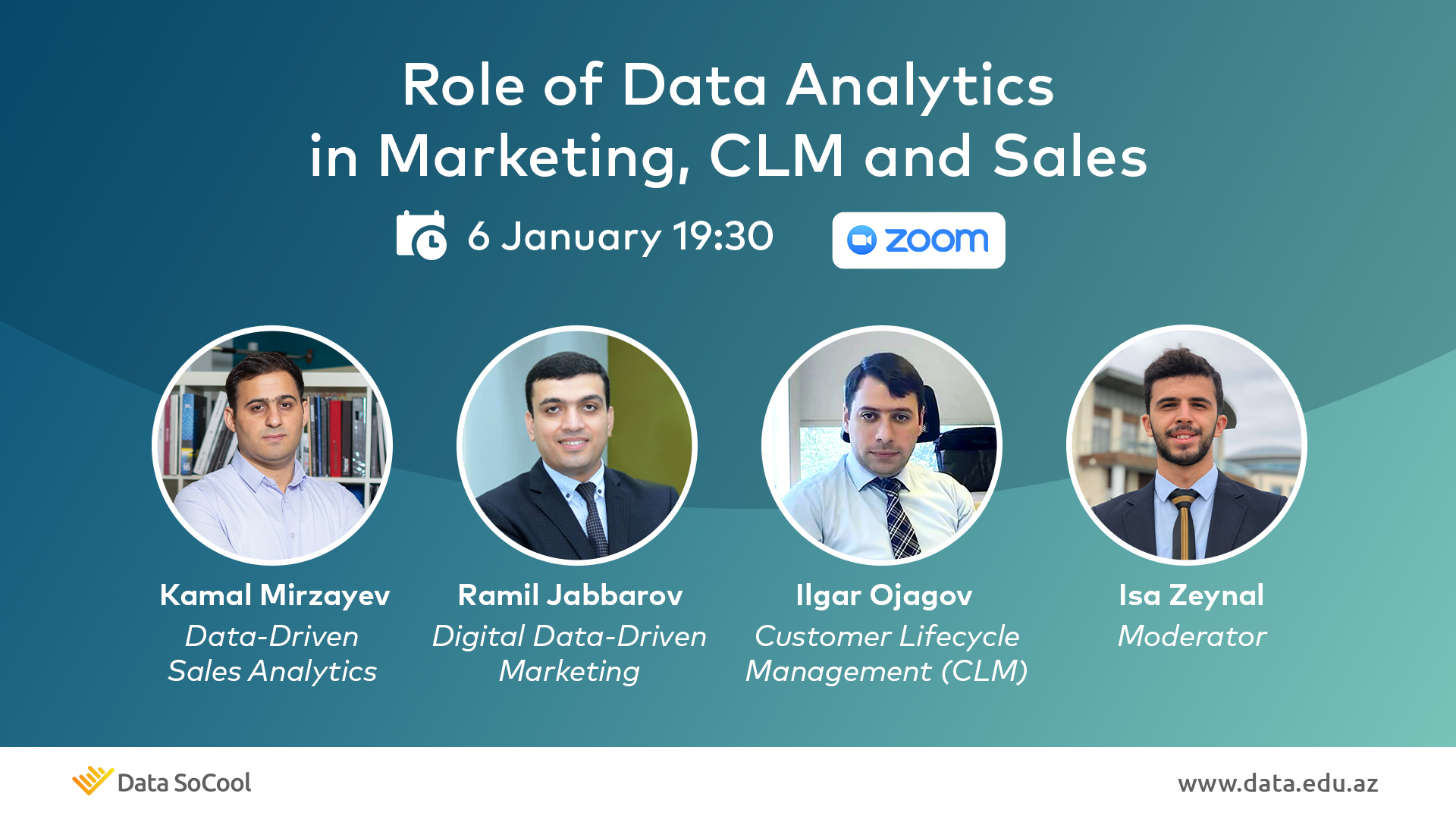 Role of Data Analytics in Marketing, CLM and Sales